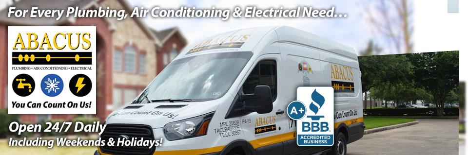 For Every Plumbing, Air Conditoning & Electrical Need...