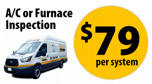 AC or Furnace Inspection - $79 per system