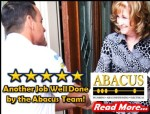 5 star customer review - Abacus Air Conditioning Plumbing Electrical - small