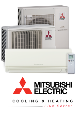 Mitsubishi Ductless Air Conditioners Abacus Houston Texas