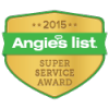 Angies List Super Service Award - 2015