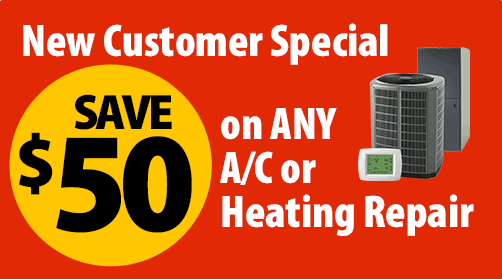 $50 Off Any HVAC Repair