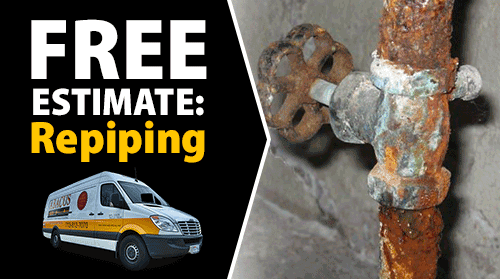 Free Estimate on Repiping Services