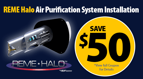 $50 Off REME Halo Air Purification System Installation