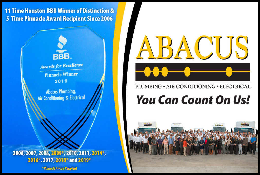 Abacus Wins Back to Back Pinnacle Awards From Houston Better Business Bureau