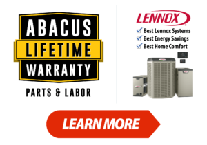 Abacus Lifetime Warranty for HVAC