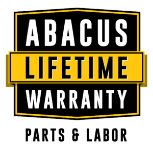Abacus Lifetime Warranty (Parts & Labor)