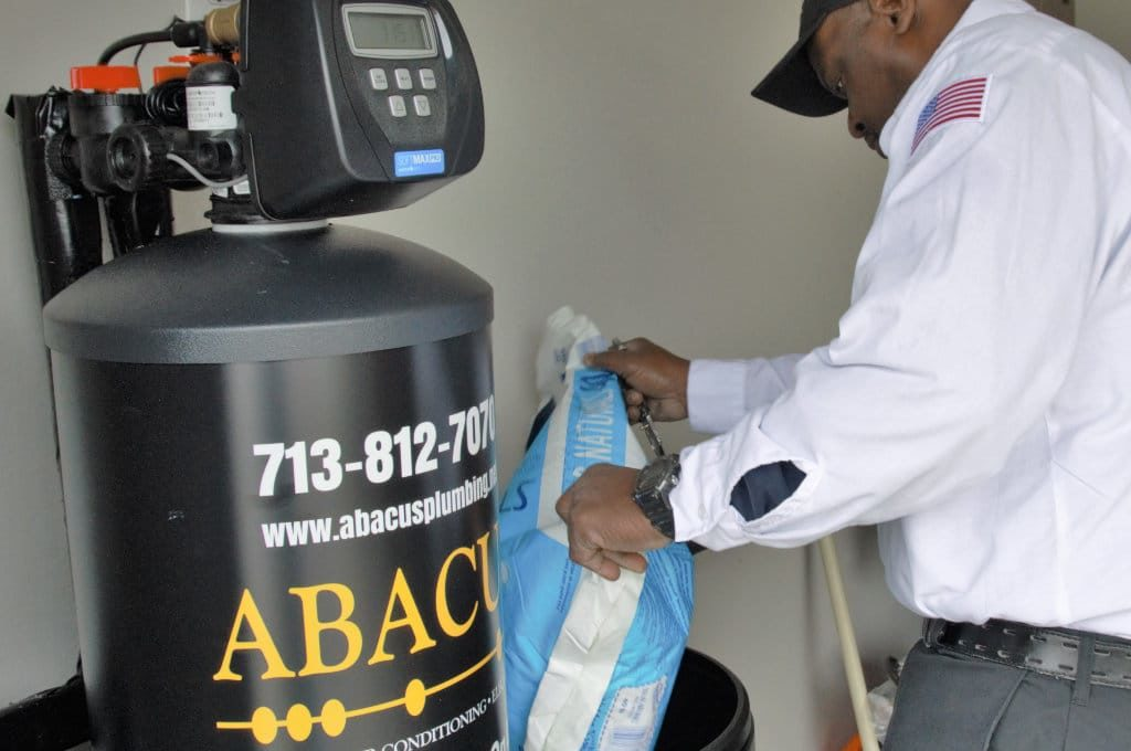 Water Softener Maintenance by Abacus in Houston